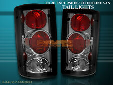 2000-2006 FORD EXCURSION 1995-2006 E SERIES ECONOLINE TAIL LIGHTS SMOKE