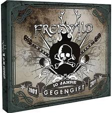 """Frei.wild """"gegengift"""" 10 Jahre Jubiläumsedition 2CD + DVD Set  NEU"""