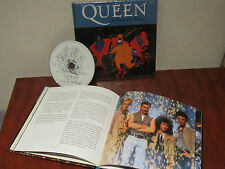 "QUEEN ""A KIND OF MAGIC"" COLLECTORS BOOK+CD SEALED SPANISH"