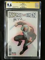 "MARVEL COMICS IVX INHUMANS VS X-MEN #1 ""OLD MAN LOGAN"" VARIANT COVER CGC SS 9.6"