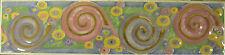 20 pz Listello Klimt 8x33 cm rivestimento bagno cucina decoro listelli ceramica