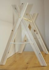 Wooden Baby play Gym handmade frame baby gift FRAME ONLY but wood imperfection