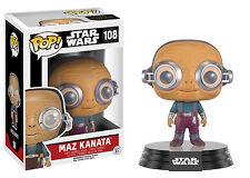 Funko Pop Star Wars Episode 7 'MAZ KANATA' #108 Vinyl Figure