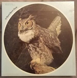 Horned Owl New Unopened 1971 Vintage Jigsaw Puzzle Eaton Complimentary Shipping