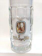 RARE VINTAGE 1960 GERMANY BITBURGER PILS BREWERY BEER 0.2L GLASS BIER CERVEZA