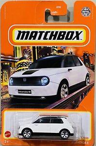 Matchbox 2020 Honda E White 2021 New Release
