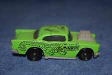 Hot Wheels 57' Chevy Green Alligator 1993 Car McDonald's Happy Meal Toy