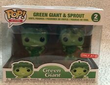 Funko Ad Icon Jolly Green Giant and Sprout Metallic Target Exclusive Pop Vinyl