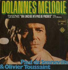 """JEAN CLAUDE BORELLY TROMPETTE - DOLANNES MÉLODIE 7""""SINGLES (h87)"""