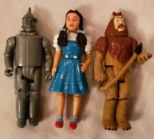 Vintage 1988 MGM Wizard of OZ figures set 3 Dorothy Lion and Tin Man