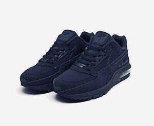 NIKE Air Max LTD 3 Triple Navy Blue MENS shoes - size 10