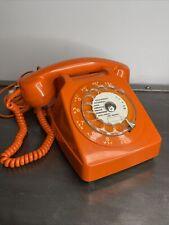 SOCOTEL s63 Vintage Téléphone Cadran Orange