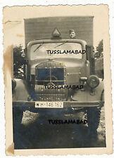 Mercedes Benz Lkw Lastwagen Kennzeichen Foto Wehrmacht