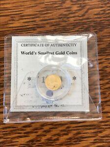 2000 Liberia $25 Gold Coin, Uncirculated, depicting George Washington