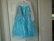 Elsa Frozen girls dress size XL