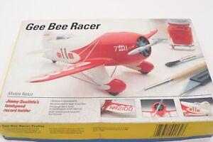 Testors 1/48 Gee Bee Racer Model Airplane Kit Biplane Stunt Landspeed Open Box