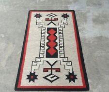 Afghan Kilim Rug Carpet 3'x5' Hand Woven Traditional Ghazni Navajo Wool Kelim
