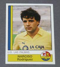 184 NARCISO UD LAS PALMAS PANINI LIGA FUTBOL 87 ESPAÑA 1986-1987 FOOTBALL