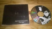 CD Folk Ian McCulloch - Proud To Fall (4 Song) Promo WEA REC sc