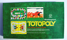 VINTAGE TOTOPOLY - WADDINGTON'S HOUSE of GAMES 1972 (100% COMPLETE)