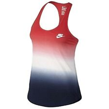 Nike Women's USA Country Art  Sleeveless red/white/blue T-shirts Top Tee Size L