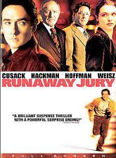 Runaway Jury (DVD, 2004, Full Screen) NEW
