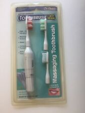 Battery Operated Toothbrush with 3 heads