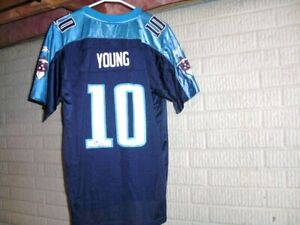 Tennessee Titans VINCE YOUNG football jersey youth XL