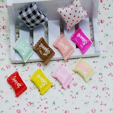 Mixed 5Pcs Flatback Resin Clay Fake Sweet Candy Cabochons Decoden Decoration DIY