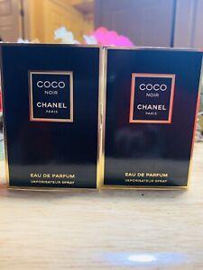 X2 Chanel Coco Noir Eau De Parfum Sample Spray Vial 1.5ml New & Carded
