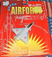 1980's Yat Ming Super Airforce Dassault Rafale A French fighter Jet Diecast 4+ 1
