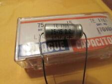 75uF 50DC Sprague 500D USA Axial Capacitor 1 piece USA 75uF 50V SPRAGUE USA