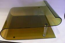 Vintage Inmac Smoked Brown Plastic Laptop / Monitor Stand