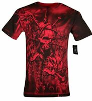 XTREME COUTURE by AFFLICTION Men's T-Shirt HEADHUNTER Tattoo Biker MMA S-5X