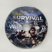 Cabela's Survival: Shadows of Katmai (Nintendo Wii, 2011) Disc Only Tested Works