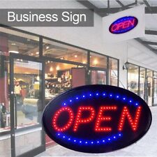 Led Business Open Sign Business Store Animated Motion Light Flashing & Steady