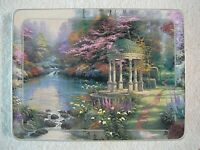 """""""The Garden of Prayer"""" 1st Issue 1998 Thomas Kinkade Collector Rectangle Plate"""