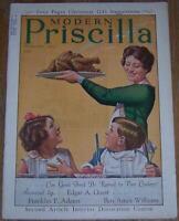 Modern Priscilla Magazine November 1929 Thanksgiving Cover/Christmas Gifts
