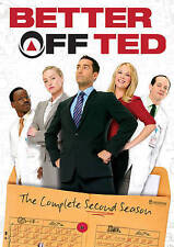 Better Off Ted: The Complete Second Season (DVD, 2014, 2-Disc Set)