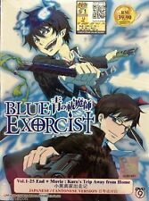 DVD ANIME Blue Exorcist 1-25 End + Movie Kuro's Trip Away From Home FREE SHIP