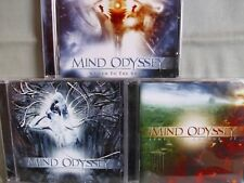 Mind Odyssey- Time to change it/ Schizophenia/ Nailed to the Shade- 3CDs WIE NEU