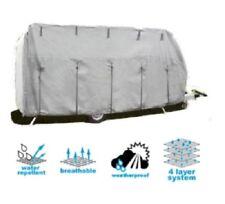 Wohnwagen Caravan Schutzhülle Wetterschutz Abdeckplane Größe XL 6,7x2,5x2,2m