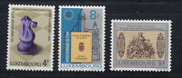 Luxembourg 1981 Chess Bank Sc 659-661 complete mint never hinged