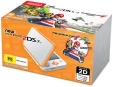 Nintendo 2DS XL White/Orange Console with Mario Kart (60755)