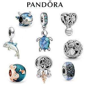 Brand New Genuine Silver Pandora Ocean Charm ALE S925 & white gift bag