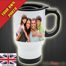 Personalised Thermal Travel Mug 14oz - Photo Display Gift