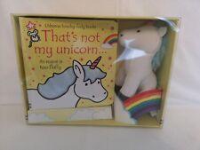That's not my unicorn.. Book and Toy by Fiona Watt & Rachel Wells Board gift set
