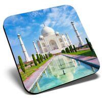 Square Single Coaster - Indian Taj Mahal Building India  #15742