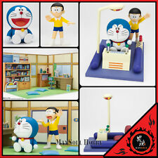 NEW AUTHENTIC Bandai Figuarts Zero Doraemon + Nobita + Time Machine + Room PO