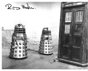 Richard Martin Doctor Who hand signed photo with COA UACC & AFTAL reg Dealer